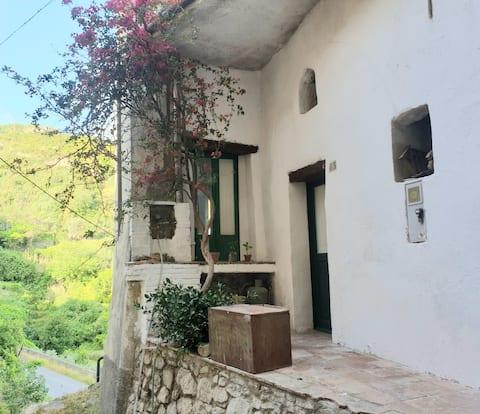 Casa mediterránea en Calabria