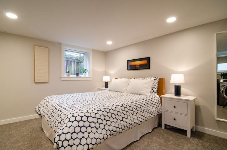 Modern Beacon Hill Guest Suite