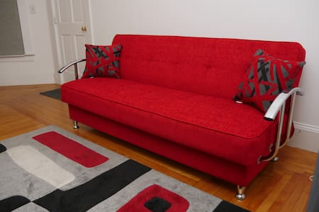 Large Private room with Comfy Pull up Sofa! - Lynn