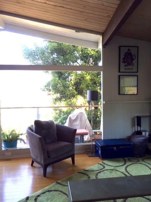 Living room gets great light