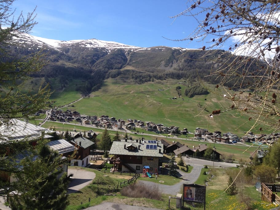 Residence - Vista su Livigno (4) / Residence - View on Livigno