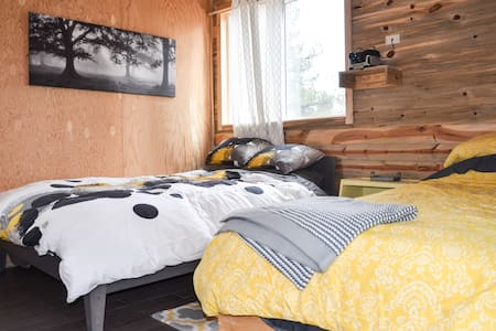 Off Grid Eco-Cabin#4 inside Wild Mustang Sanctuary