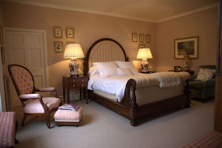 Butterfly Room: Luxury King room with ensuite bath