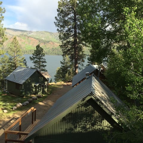 Rustic Vallecito Lake Cabin #9 lakeside with views