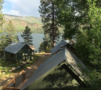 Rustic Vallecito Lake Cabin #9 lakeside with views - Bayfield - Srub