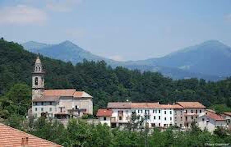 Splendido appartamento Val Trebbia - Rovegno - Apartemen