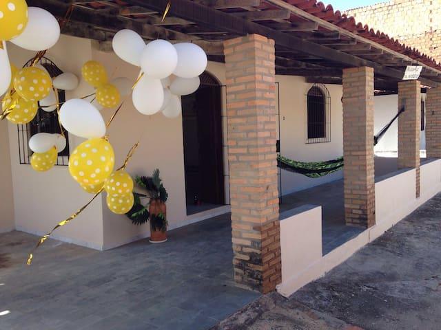 Casa praia 3Q litoral Conde Bahia - Sitio do condr