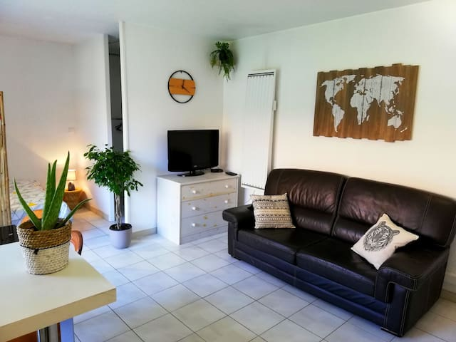 Appartement F1 avec coin lit Anglet/Biarritz