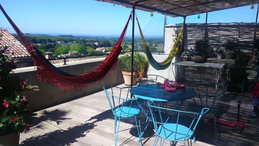 Maison villageoise provençale - Sablet - Casa