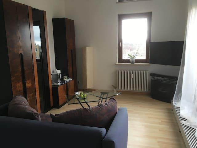 1 Zimmer Apartment für Business+Urlaub inkl.Garage