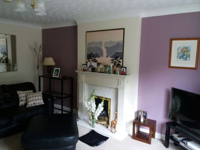 Double room in a quiet peaceful area near Hull