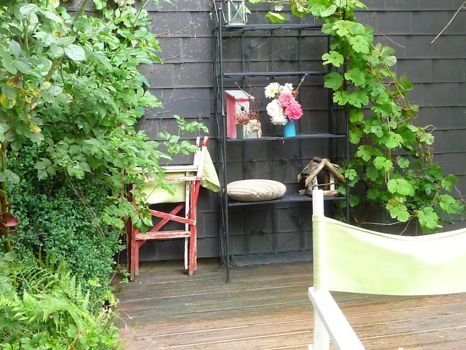 Garten hinten raus
