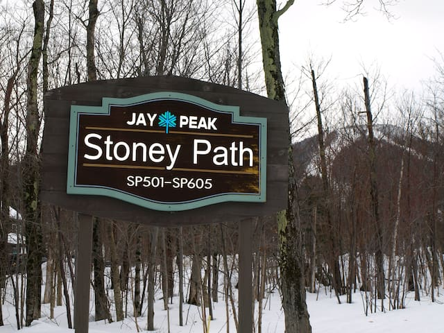 Entrance on Stoney Path Road
