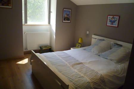 Chambre 12m2 +salle de bain et wc - Blanzay - Bed & Breakfast
