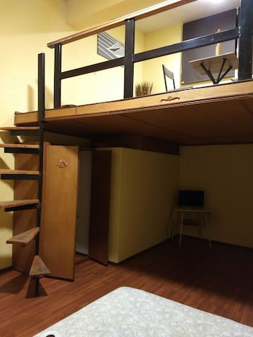 Loft privado en residencial