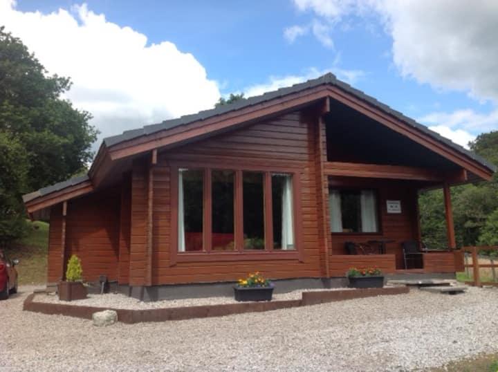 Rowansrest- Immaculate Scottish Lodge, Sandyhills