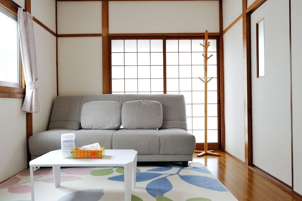 1F 客厅 ground floor, Living room