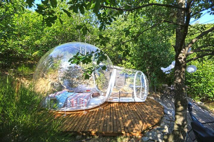 Dans ma bulle, au cœur des Cévennes