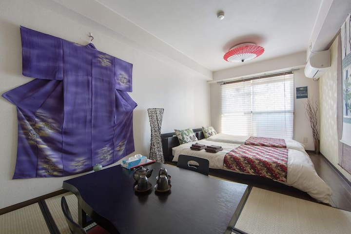 H35 KYOTO Arashiyama|JP STYLE|FREE WIFI|MAX3 - Nishikyō-ku, Kyōto-shi - Apartment