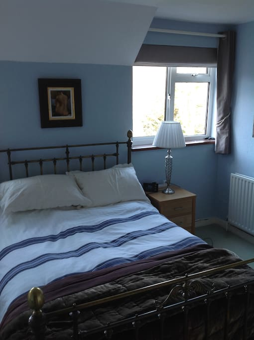 Double bedroom with en suite Lots of wardrobe/cupboards