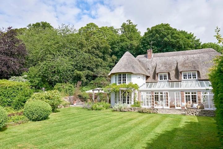 Lulworth Castle Park edge Cottage - Woodside Lodge