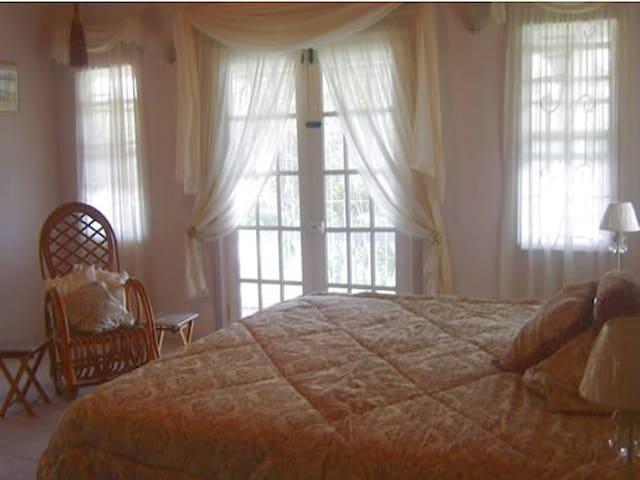 Ocean View Apartment Master Bedroom