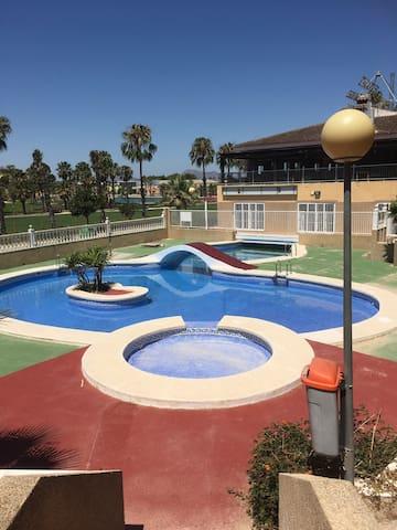 Pino grande studio with communal pool