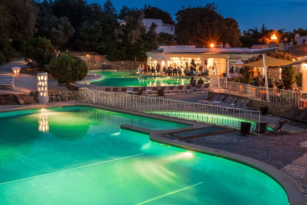 The Villa is located in a Resort which offers Swimming Pools, Tennis court, Kids Club, Mini Golf, Playground, Restaurants and Bars.