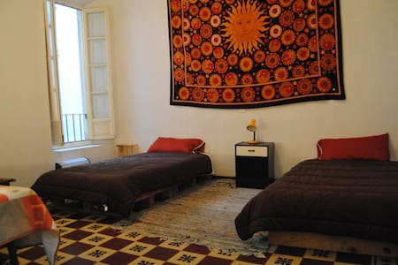 Habitación con dos camas - กรานาดา - ที่พักพร้อมอาหารเช้า