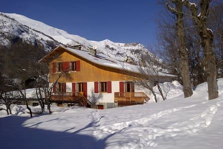 Duplex in typical Chalet in Valloire, savoie - ヴァロワール