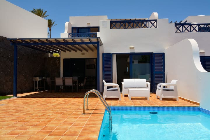 Villa by the sea with private pool. Villa Yucas. - Playa Blanca - Villa