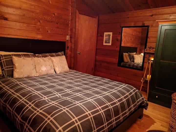 1 Chambre Oka  lit queen, bord Lac  Deux-Montagnes