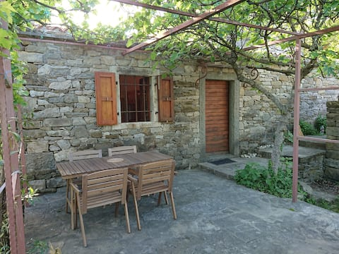 Countryside stone hut