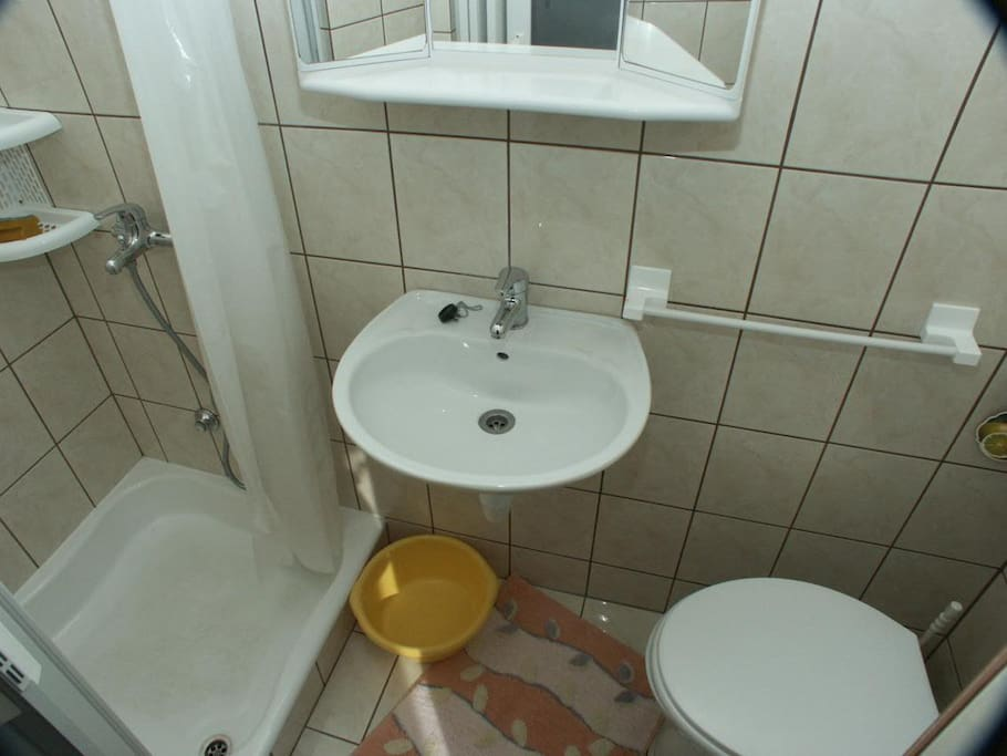 Bathroom, Surface: 2 m²