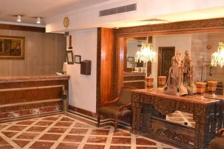 Central NILE VIEW Hotel Room - Zamalek