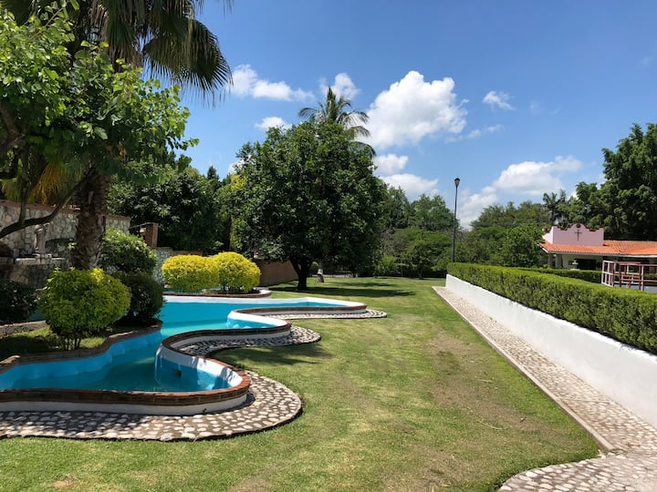 Suite para vacacionar en bella hacienda