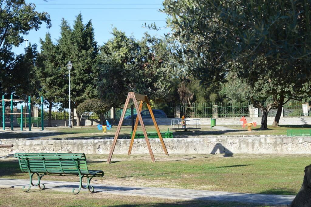 parco giochi per bambini a 1000metri