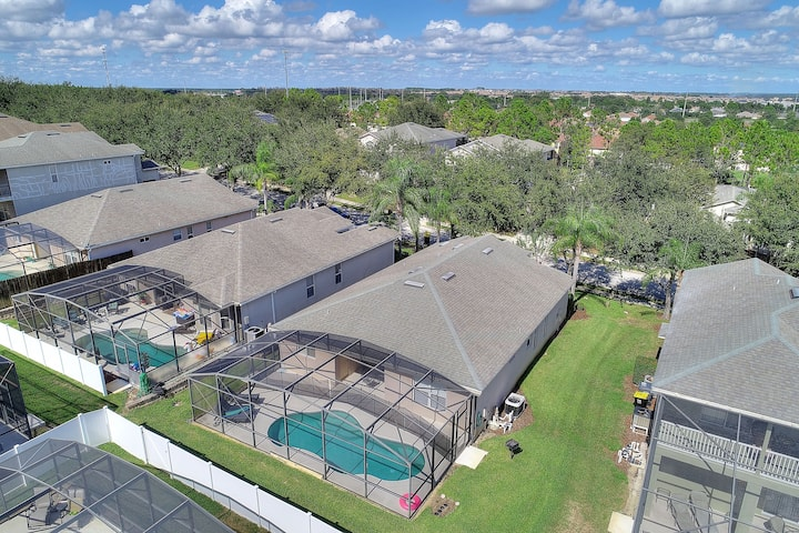 805 Close to Disney, Private Pool, Cabana Loungers