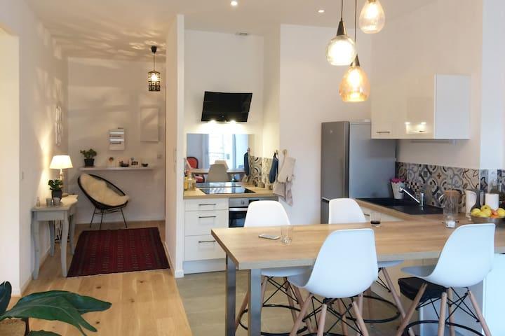 Appartement lumineux de 80 m² Centre Ville - Montpellier - Apartamento