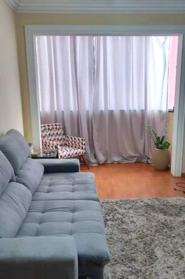 Apartamento aconchegante completo
