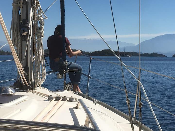 Kalmali ve gunluk Yelkenli Tekne Turu