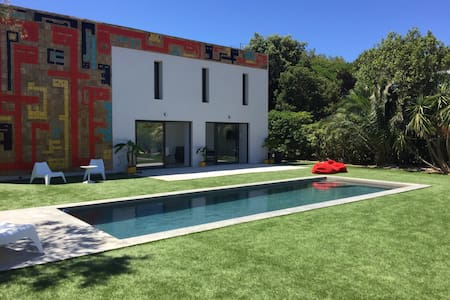 Chambre dans villa avec Piscine et plage à 100m @2 - Hyères