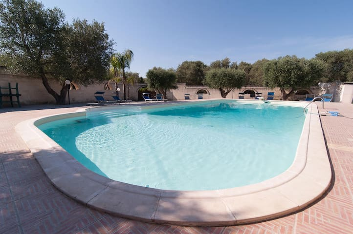 La Chianche B&B apartment with Pool