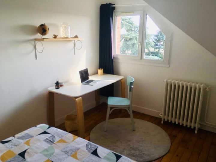 Chambre+sdb privée prox place cauchoise&université