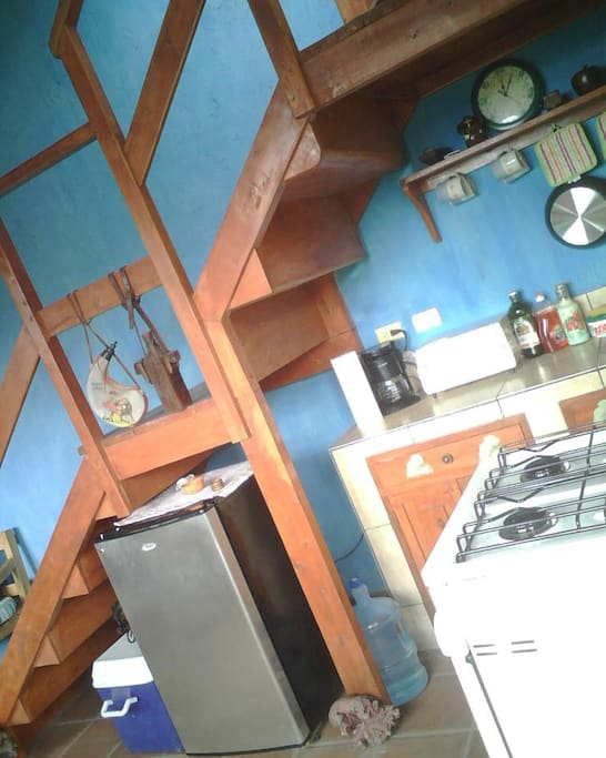 Cocina Cabaña 2