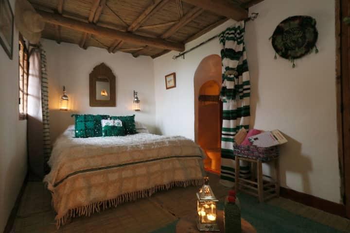 Douar Samra - Chambre berbère Yan pour 2 personnes