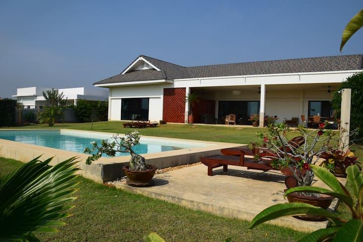 Private Pool Villa Pak Nam Pran - Pak Nam Pran - Casa de camp