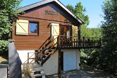 Cosy chalet with sauna in a quiet area just outside La Roche