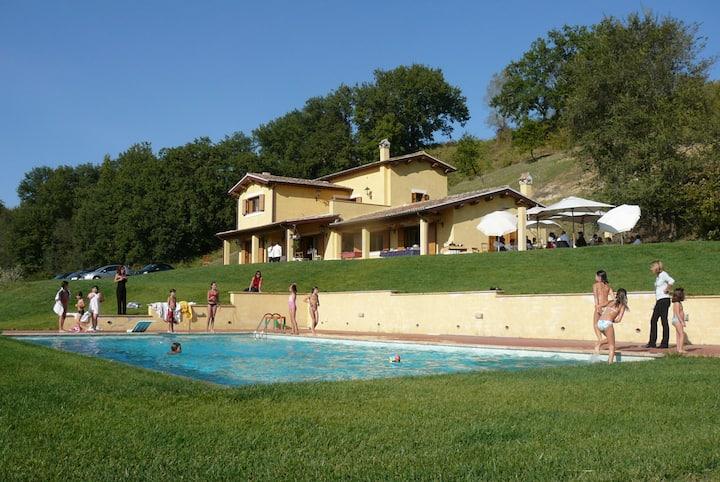 Villa con piscina ed idromassaggio in Sabina