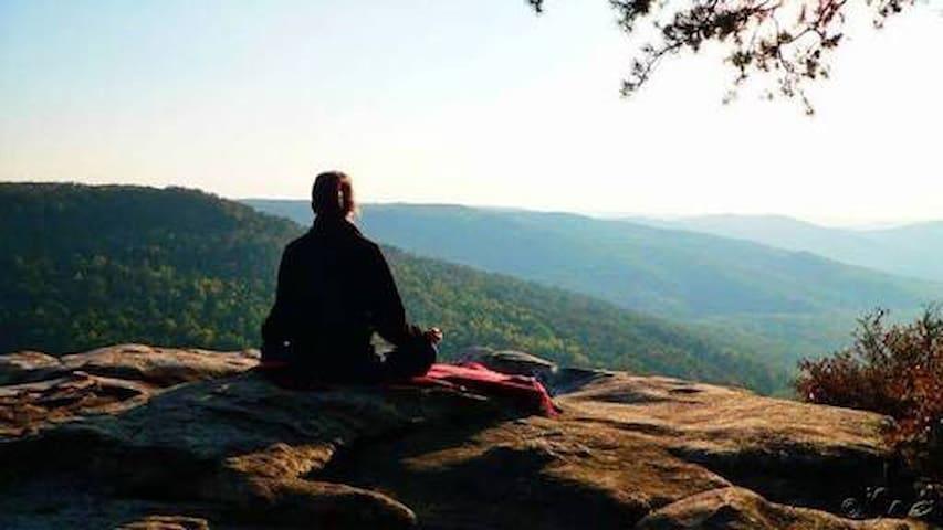 Paz y tranquilidad en Monasterio Budista